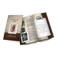Design Your Memorial Programs or Funeral Programs Online